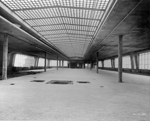 SA/BL/1/16/1 - Photograph of construction of Sainsbury's factory at Paris Gardens, Blackfriars, London (interior), 3 Jul 1934