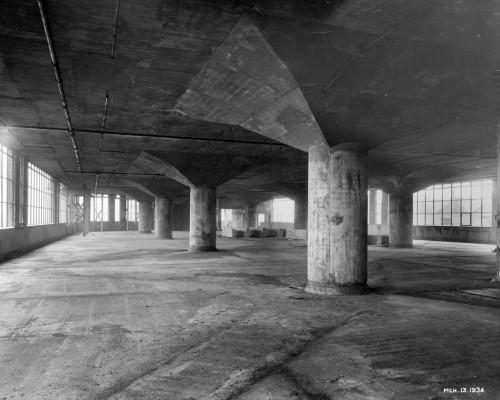 SA/BL/1/16/2 - Photograph of construction of Sainsbury's factory at Paris Gardens, Blackfriars, London (interior), 13 Mar 1934
