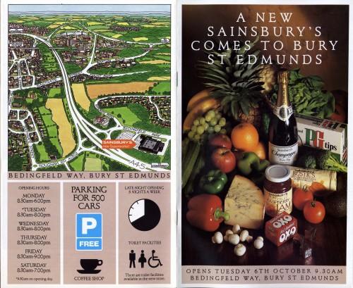 SA/BR/22/B/62/2/1 - Bury St Edmunds [Bedingfield Way, Moreton Hall] store opening booklet