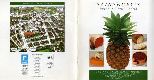 SA/BR/22/B/64/2/1 - Banbury (10 Calthorpe Street) store opening leaflet