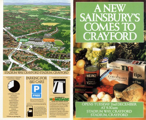 SA/BR/22/C/48/2/1 - Crayford (Stadium Way) store opening booklet
