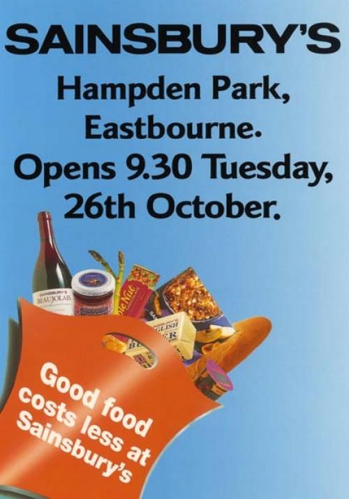 SA/BR/22/E/8/2/1 - Eastbourne, Hampden Park store opening leaflet