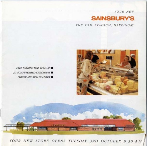 SA/BR/22/H/14/2/1 - Your new Sainsbury's' Harringay (Williamson Road) store opening booklet