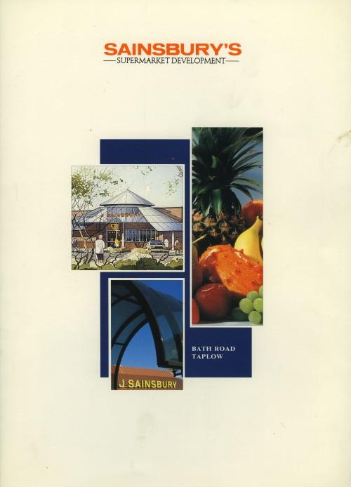 SA/BR/22/T/2/2/1 - Sainsbury's Supermarket Development: Bath Road, Taplow brochure, c. 1993