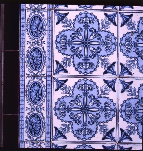 SA/BRA/1/8/1/2 - Photograph of Stratford [79 Angel Lane] store tiles detail