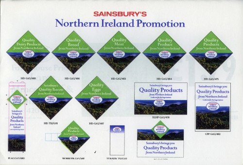 SA/BRA/3/1/6/6 - A Product of Northern Ireland (Quality Food from Northern Ireland) information pack