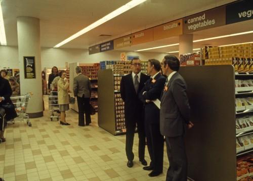 SA/BRA/7/A/11/3/30 - Photograph of Sainsbury's managers at Park House, Park Street, Ashford store