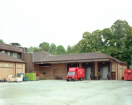 SA/BRA/7/A/15/3 - Image of loading bay at Mills Road, Aylesford, Maidstone branch