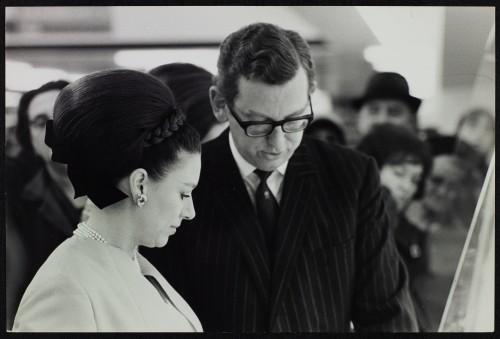 SA/BRA/7/B/1/3/47 - Image of Princess Margaret with JD Sainsbury visiting Balham High Road, Balham branch