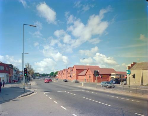 SA/BRA/7/B/20/7/1/3 - Image of Birmingham: Selly Oak branch exterior: view along Bristol Road