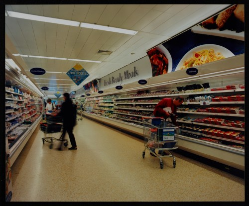 SA/BRA/7/B/39/8/5 - Image of Winterstoke, Bristol store interior: fresh ready meals aisle