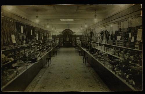 SA/BRA/7/C/4/1/5 - Image of Cambridge (16/17 Sidney Street) branch interior (without staff)