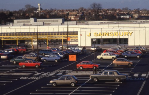 Sainsburys drumchapel car park
