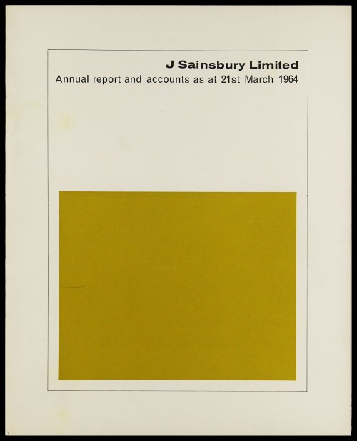 SA/CO/5/1/15 - Annual report and accounts 1964