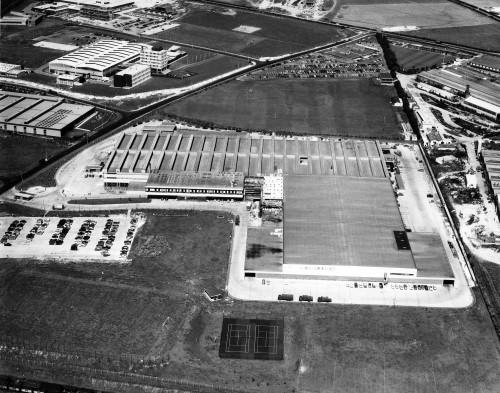 SA/DEP/2/4/1/22 - Aerial photograph of Basingstoke Depot