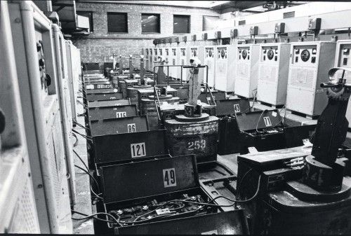 SA/DEP/4/6/10 - Photograph of machinery at Charlton Depot