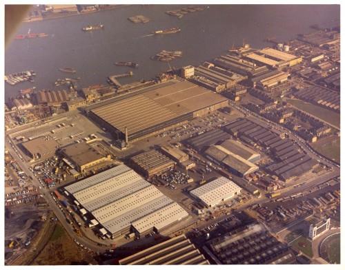 SA/DEP/4/6/18 - Aerial photograph of Charlton Depot