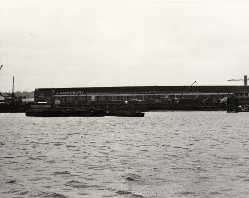 SA/DEP/4/6/23 - Photograph of Charlton Depot from across the river