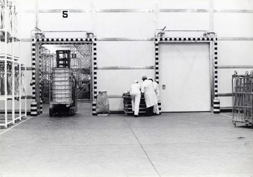 SA/DEP/4/6/3 - Photograph of interior of warehouse, Charlton Depot