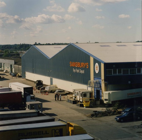 SA/DEP/5/2/7 - Photograph of Rye Park depot, Hoddesdon
