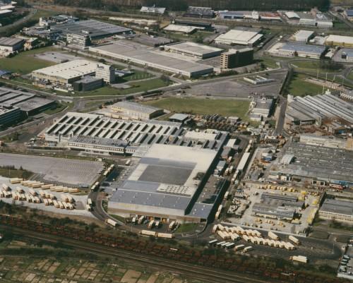 SA/DEP/2/4/1/20 - Basingstoke depot aerial photograph