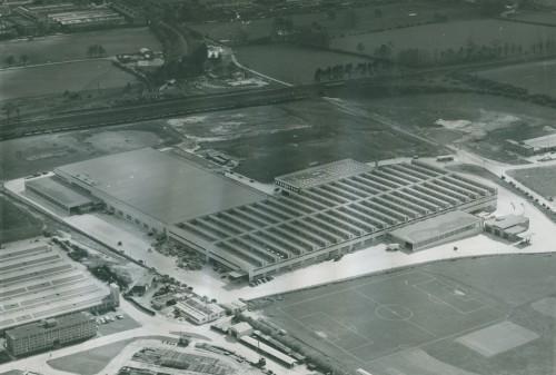 SA/DEP/2/4/1/7 - Aerial photograph of Basingstoke Depot