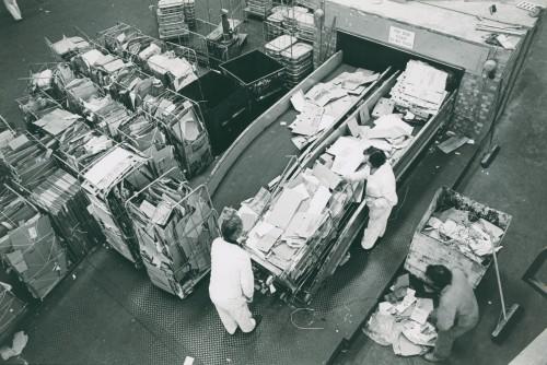 SA/DEP/2/4/4 - Images of facilities, staff and machinery at Basingstoke Depot