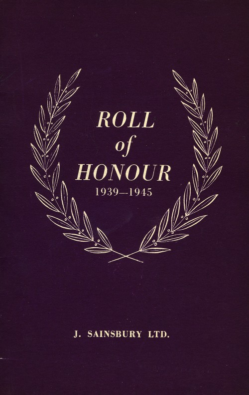 SA/EMP/2/3/6 - Roll of honour (Second World War) booklet