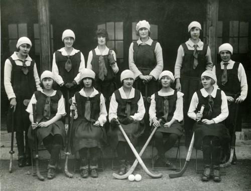 SA/EMP/SOC/3/1/2 - Photograph of female hockey team