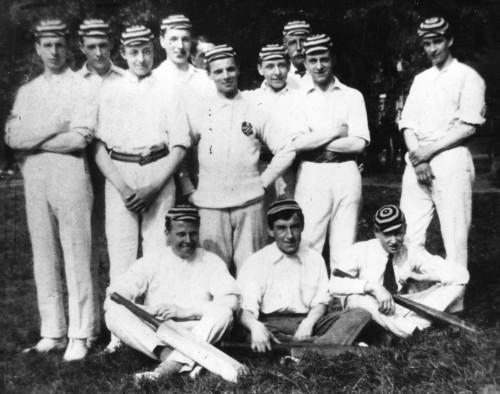 SA/EMP/SOC/3/IMA/3/1 - Photograph of a staff cricket team 1919