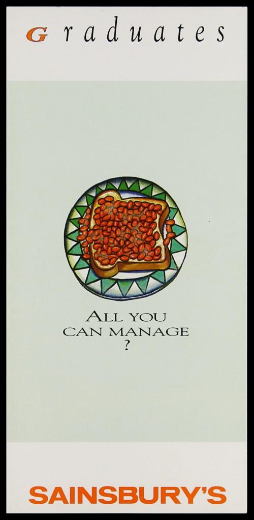 """SA/EMP/1/1/10/15 - """"Graduates: All you can manage?"""" leaflet"""