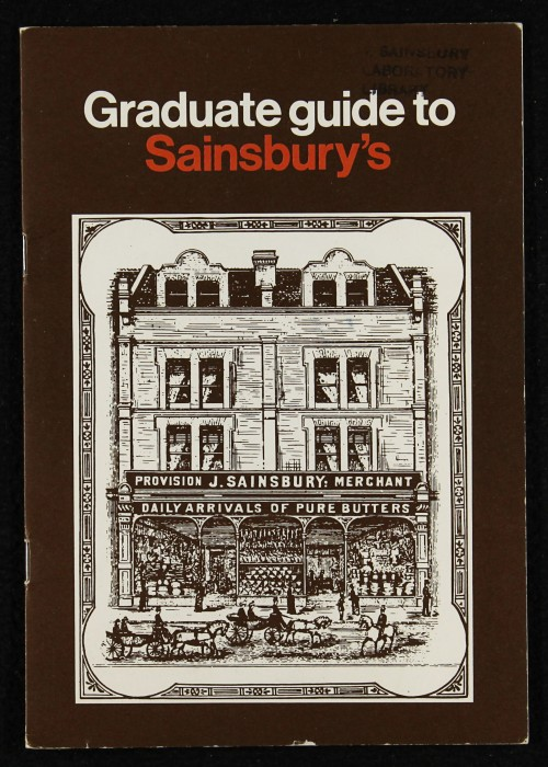 "SA/EMP/1/1/10/2 - ""Graduate guide to Sainsbury's"""
