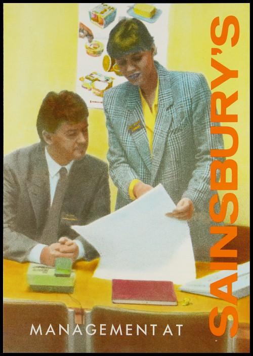 "SA/EMP/1/1/12/6 - ""Management at Sainsbury's"" leaflet"