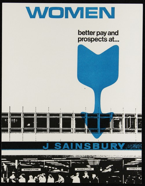 "SA/EMP/1/1/2/21 - ""Women: better pay and prospects at… J Sainsbury"" (Code B) recruitment flyer"