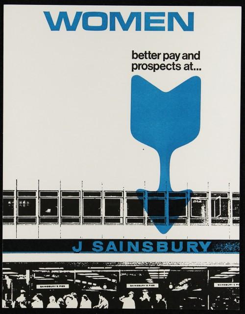 "SA/EMP/1/1/2/21 - ""Women: better pay and prospects at… J Sainsbury"" (Code B) recruitment flyer"