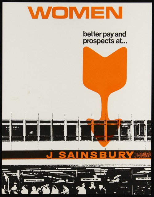 "SA/EMP/1/1/2/22 - ""Women: better pay and prospects at… J Sainsbury"" (Code C) recruitment flyer"