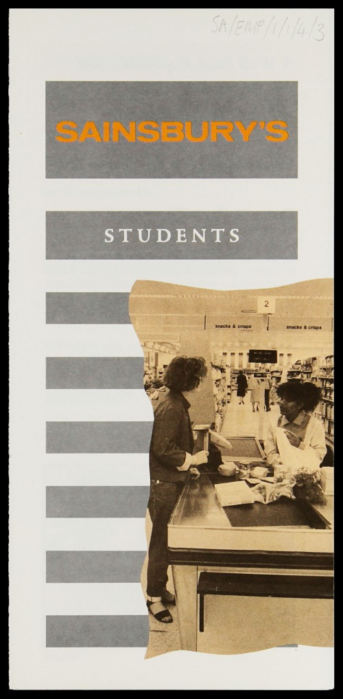 "SA/EMP/1/1/4/3 - ""Students"" recruitment leaflet"