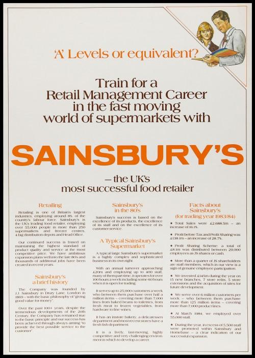 Management trainee (non-graduate) recruitment leaflets | SA