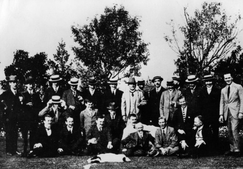 SA/FAM/1/IMA/1/3 - Photograph of John James Sainsbury and colleagues