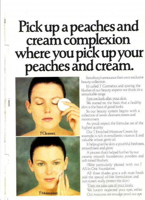 SA/MARK/ADV/1/1/1/1/2/24 - 'J' Cosmetics magazine advertisement