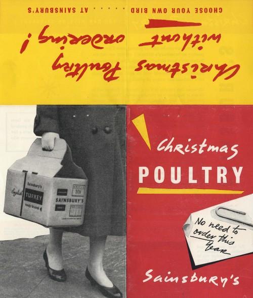 "SA/MARK/ADV/1/1/1/1/5/1/240 - ""Christmas Poultry"" leaflet for customers"