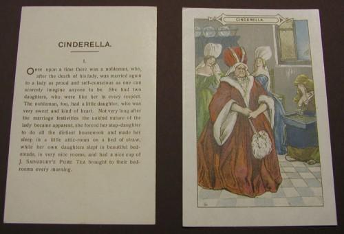 SA/MARK/ADV/1/3/2/2/1 - Cinderella tea advertising card (card 1)