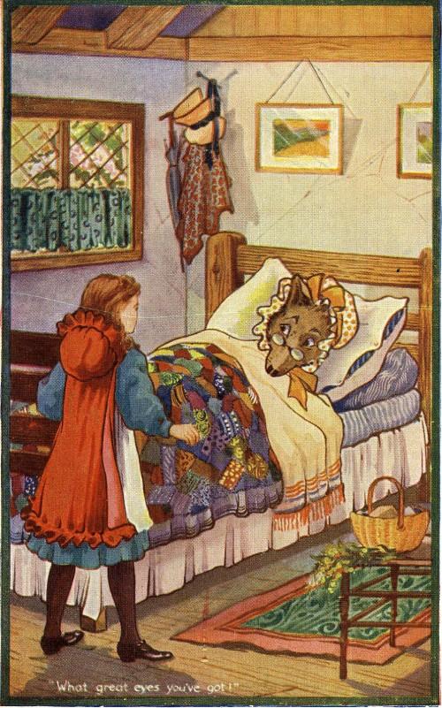 "SA/MARK/ADV/1/3/2/7/4 - ""Little Red Riding Hood"" tea advertising card IV"