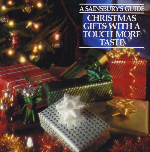 "SA/MARK/ADV/3/1/4/1/2/3 - ""Christmas gifts with a touch more taste"" leaflet"