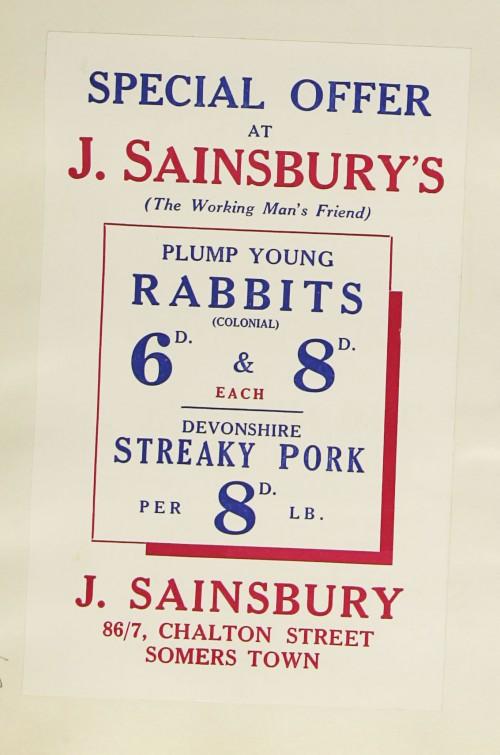 SA/MARK/ADV/1/1/1/1/1/9/176 - 'Special Offer at J. Sainsbury's' advert, [1934]
