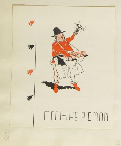SA/MARK/ADV/1/1/1/1/1/9/200 - 'Meet-The Pieman' advert, 1935