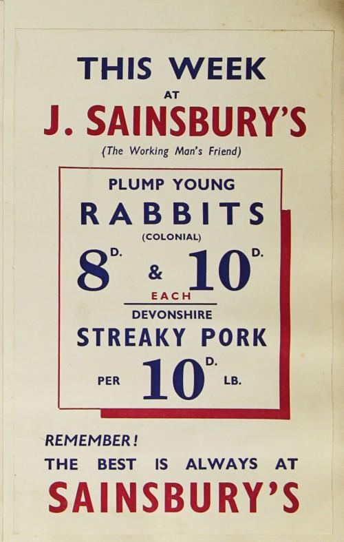 SA/MARK/ADV/1/1/1/1/1/9/208 - 'This Week at J. Sainsbury' advert