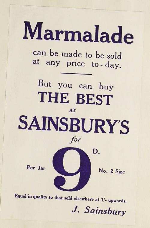 SA/MARK/ADV/1/1/1/1/1/9/98 - Marmalade advert, c. 1930s