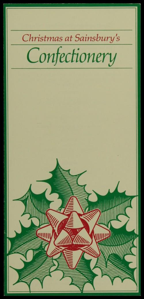 SA/MARK/ADV/3/3/6/1/26 - 'Christmas at Sainsbury's. Confectionary' price list, 1983