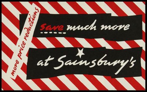 SA/MARK/ADV/3/3/7/10 - 'Save much more at Sainsbury's' leaflet, Feb 1959